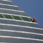 French Climber Scales Russia's Federation Tower