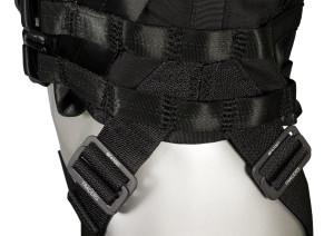 Stunt harness vest for woman