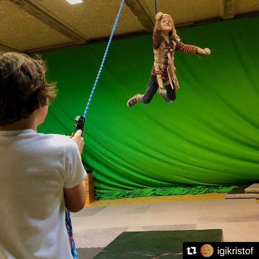 Stunt harness, vest for stunt rigging, flying, aerial perfomances, stuntmen