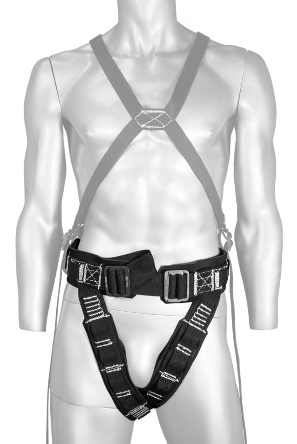 Stunt flying harnesses, tricks and flight harnesses
