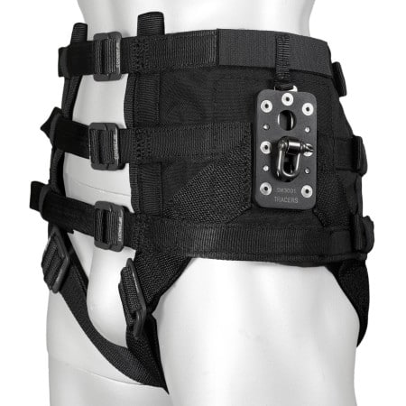 Stunt flying harnesses, equipment, hardware and accessories for stuntmen.