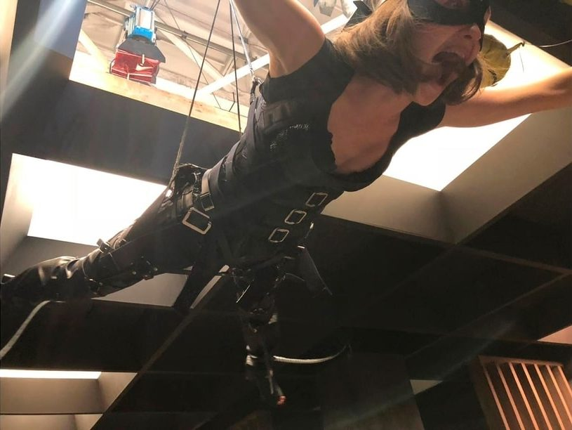Stunt harness, vest for stunt rigging, flying, aerial perfomances, stuntwoman