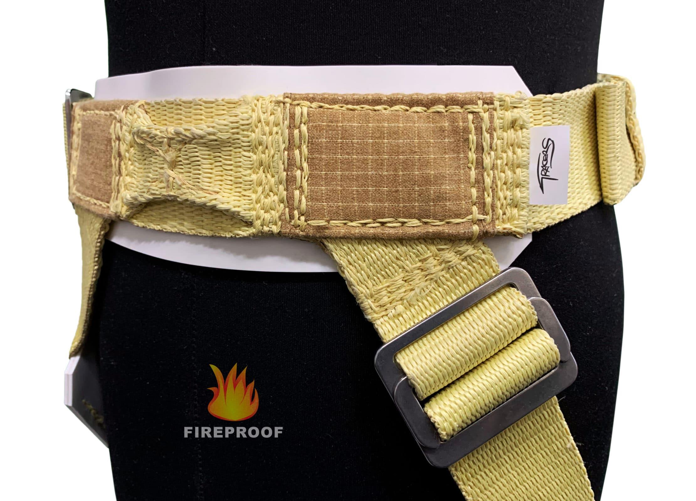 Stunt flying aramid-kevlar fireproof harnesses, full body burn, fireresistant